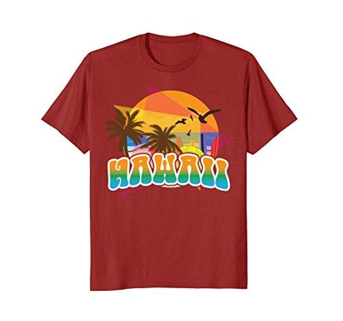 Vintage Hawaii Shirt Gift - 70s 80s Style Hawaiian Aloha Tee 1970s Hawaiian Shirt
