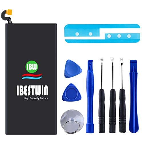 Galaxy S6 Battery IBESTWIN 2750mAh 3.85V Li-Polymer Internal Replacement Battery EB-BG920ABE for Samsung Galaxy S6 G920A at&T, G920V Version, G920T T-Mobile, G920P Sprint with Remove Tool Kit