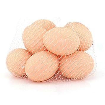 Amazon.com: Juguetes – 10 piezas de huevos artificiales ...