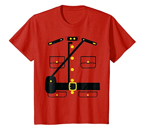 Kids Canadian Police Costume T-Shirt Gift Idea Vintage Shirt 6 (Soldier Girl Costume Ideas)