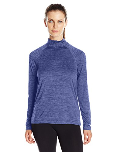 Charles River Apparel Women's Space Dye Moisture Wicking Performance Pullover, Navy, Medium (Space Dye Pullover compare prices)