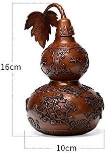 XJYWJ ペットの,、真鍮のひょうたんの,、ペットの骨n、近親者、愛するペットのペットの火葬の骨nsお土産。 (色 : Brown)