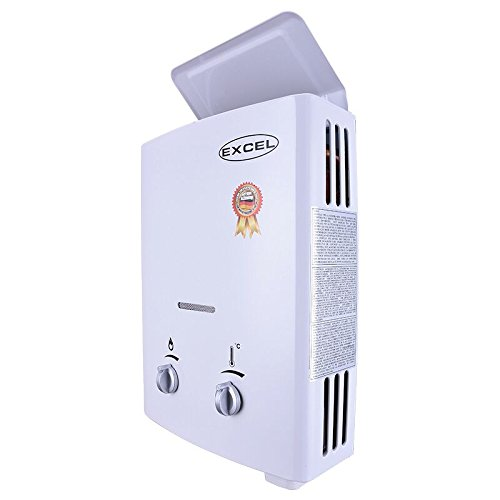 TANKLESS LPG GAS WATER HEATER (LOW PRESSURE STARTUP) 1.6 GPM VENTFREE (PROPANE) (Best Gas Heaters For Large Areas)