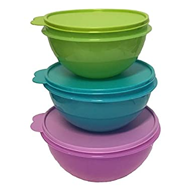 Tupperware Wonderlier Bowl Set 3 in New Colors