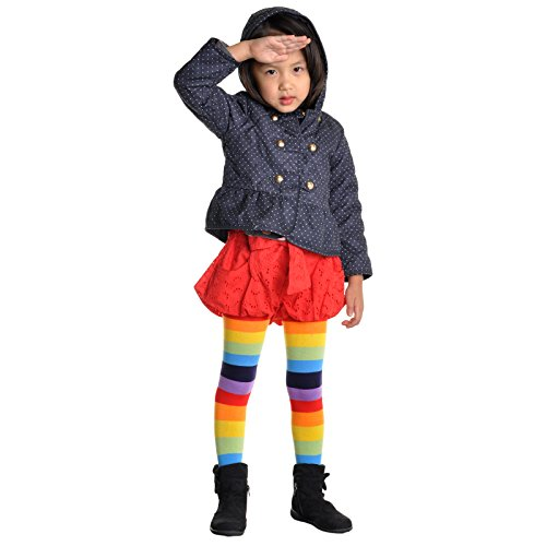 650e3a558 Angelina 6-Pack Girls Winter Tights  Heel and Toe  Assorted - Import It All