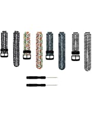 Baaletc vervangende horlogeband voor Garmin Forerunner 235/235Lite, zachte siliconen voor Garmin Forerunner 235/235Lite/220/230/735XT/620/630&Garmin Approach S20 S5 S6 Smart Watch
