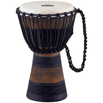 Nino Percussion NINO-ADJ3-S Small 8-Inch African Style Rope Tuned Djembe, Earth Series