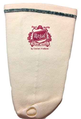 Regal Prosthetic Sock 5 Ply with Hole Med Long (Arm Stump)