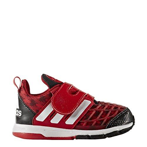 adidas Marvel Spider-Man Cf I, Zapatillas Unisex Niños, Rojo (Escarl/Negbas/Ftwbla), 19 EU