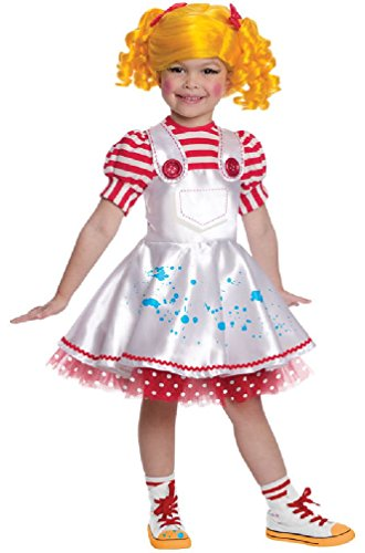 [8eighteen Lalaloopsy Deluxe Spot Spatter Splash Toddler/Child Costume] (Lalaloopsy Adult Costumes)