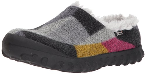 Gray Boot ON Snow BMOC Women's Wool Bogs Gold Dark Slip 8qSaZYw