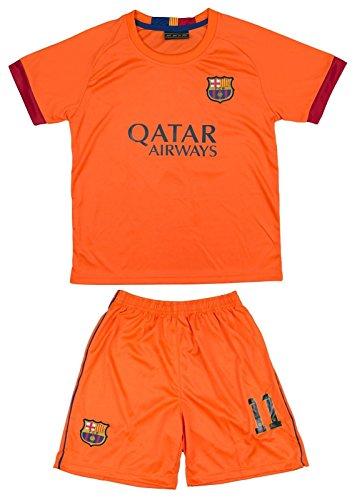 2014/2015 Neymar JR #11 Away Barcelona Fc Football Soccer Kids Jersey & Short (4-5 YEARS)