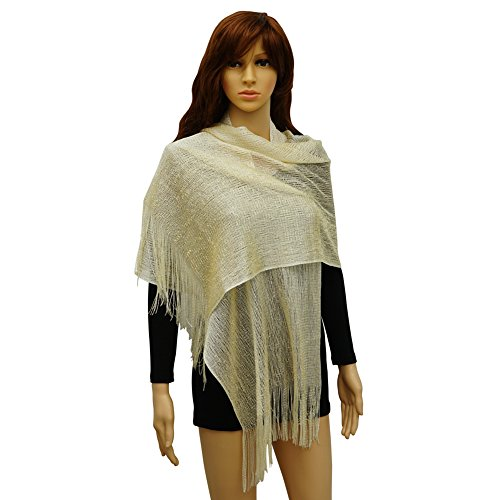 Sheer Bridal Scarf Womens Shawls and Wraps for Wedding Evening Dresses ()