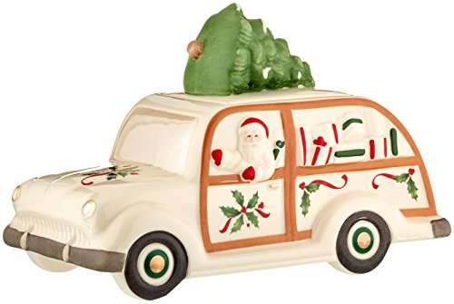 Lenox Holiday Cookie Jar, Station Wagon