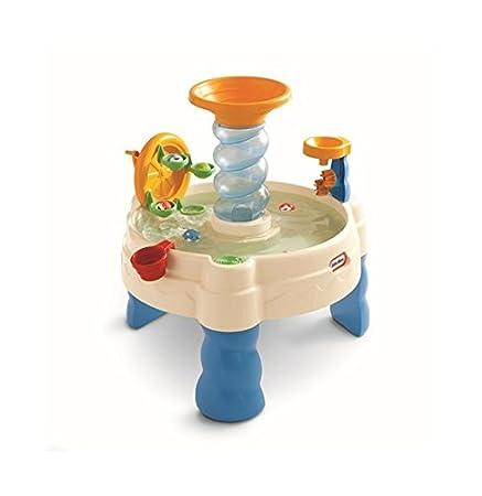 Amazon.com: Little Tikes Spiralinu0027 Seas Waterpark Play Table: Toys U0026 Games
