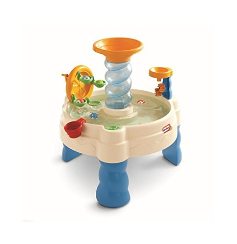 Spiralin' Seas Waterpark Play Table is a great outdoor water toy for babies and toddlers