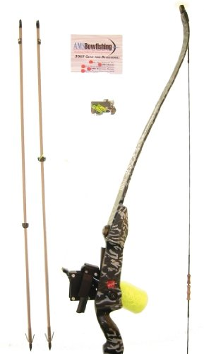 RH Advanced Bowfishing Package w/ PSE Kingfisher Recurve Takedown Bow, 50 pounds