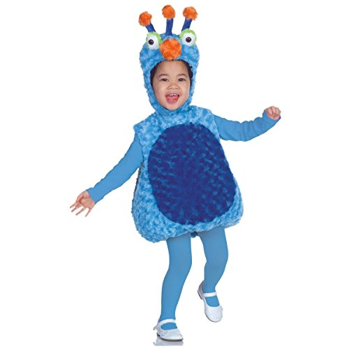 Belly Babies 3-Antenna Monster Costume - Medium (Zombie Cowgirl Costumes)