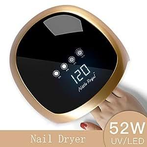 amazon   nail dryer 52w led lamp nail dryer fingernail