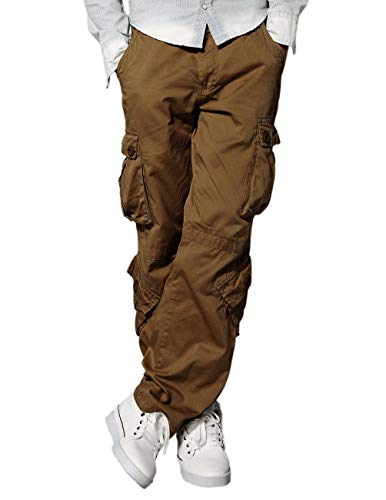 Match Men's Wild Cargo Pants(Mud,36)