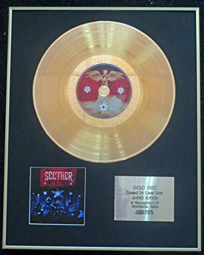 Century Presentations - Seether - Exclusive Limited Edition 24 Carat Gold Disc - One Cold Night