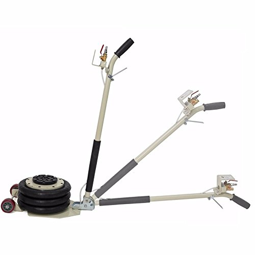 INTBUYING 6600lbs Triple Bag Air Jack Portable 3 TON Triple Bag AIR Jack Frame Alignment car Truck Shop by INTBUYING (Image #3)