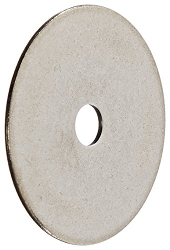 18-8 Stainless Steel Flat Washer, Plain Finish, Inch: Amazon.com ...