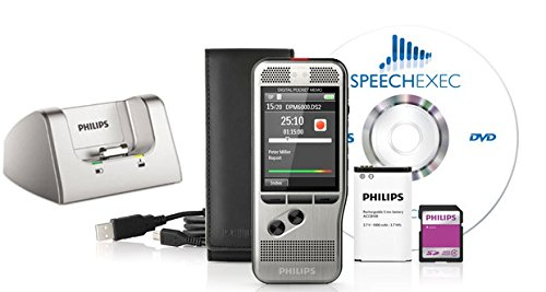 Philips DPM 6000 Digital Pocket Memo with Docking Station