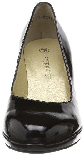 Peter Kaiser KONIA 79911 - Zapatos de tacón de cuero para mujer, color negro, talla 35 EU (2.5 Damen UK) Negro (Schwarz (SCHWARZ LACK 010 010))