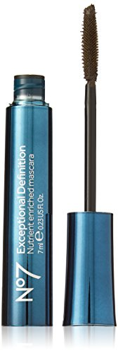 (BOOTS No7 Exceptional Definition Mascara Brown/Black)