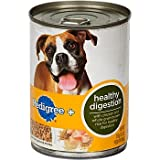 Pedigree Plus Healthy Digestion Premium Ground Entree with Chicken and Brown Rice Canned Dog Food, My Pet Supplies