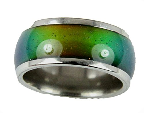 10mm Solid Heavy Gauge Stainless Steel Comfort Fit Mood Ring Band 70's Style Not Cheap Very Good Quality (7)