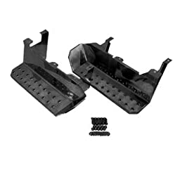 Rugged Ridge 11139.02 Semi Gloss Black Side Step - Pair