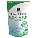 Tea Tree Oil Foot Soak With Epsom Salt, Antifungal Foot Soak Helps Away Toenail Fungus, Athletes Foot & Stubborn Foot Odor - Softens Calluses & Soothes Sore Tired Feet, 14 Ounce