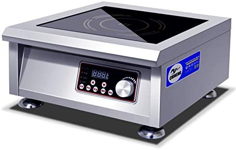 Amazon.com: 3500 W comercial Countertop Wok para inducción ...