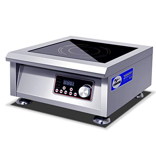 (CHINENG 5000w Countertop Commercial Induction Cooker Burner, Electric Induction Stove Cooktop)