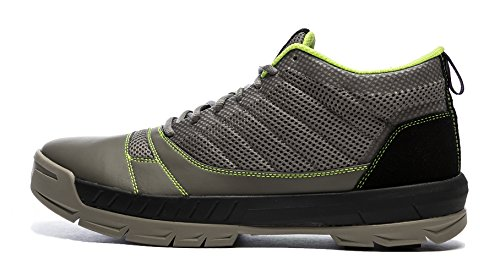 Kujo Yardwear Lightweight Breathable Yard Work Shoe Grey/Green 10.5 D(M) US Men / 12 B(M) Women