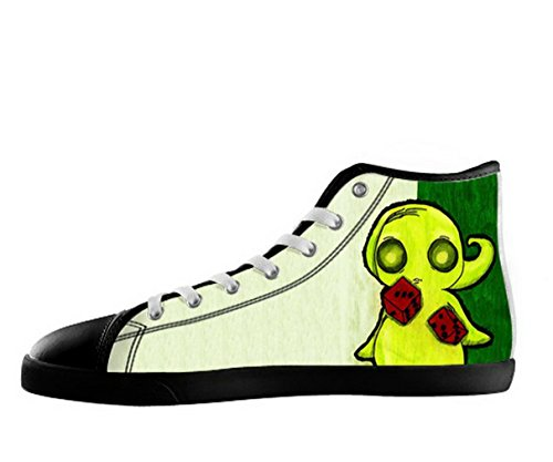 The Nightmare Before Christmas Logo Mens Nonslip Black High Top Shoes Tnbc Canvas Shoes23 0AyaB