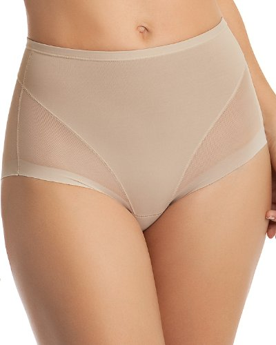 Leonisa Super Comfy Control Panty Shaper, Large, Nude