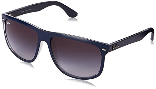 Ray-Ban RB4147 - TOP MAT BLUE ON GREY TRA Frame GREY GRADIENT DARK GREY Lenses 60mm - Ray Spectacles Ban