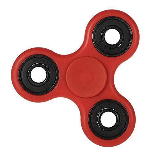 D-JOY Fidget Toy Hand Spinner Camouflage, Stress Reducer Relieve Anxiety and Boredom ,Red