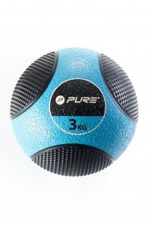 Balón Medicinal 3 kg Original pure2i mprove: Amazon.es: Deportes y ...