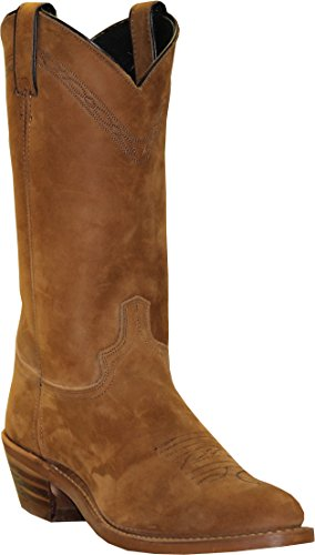 - Abilene Men's Pull-On Western Boot Medium Toe Dirty BRN 8.5 D(M) US