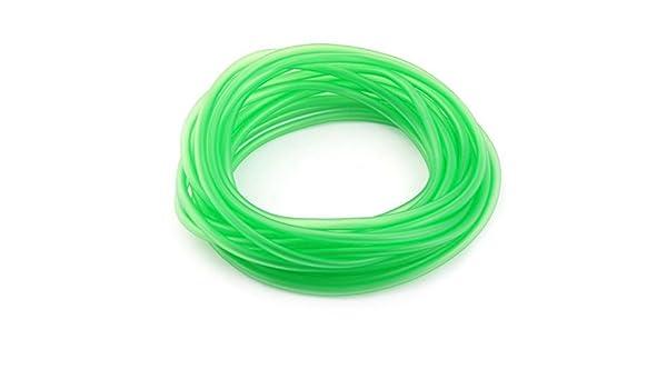 Amazon.com : eDealMax peces de acuario tanque de plástico blando tubo Flexible de oxígeno Hacer Circular la pipa Verde : Pet Supplies