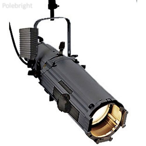 Source Four High Intensity Discharge Zoom Ellipsoidal Spotlight, White, Stage Pin - 15-30 Degrees (115-240V AC) - Polebright update (Ellipsoidal Zoom Spotlight)