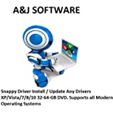Snappy Driver Install / Update Any Drivers XP/Vista/7/8/10 32-64-GB DVD. Supports all Modern Operating Systems