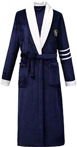ンパジャマ ガウンフリースパジャマを着替え男子スーパーソフトは、軽量温かく居心地の良いバスローブを設定します。 -4561