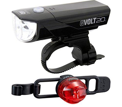 Negro//Rojo Loop 2/G SL de ld140grc beleuchtungskit Cateye gvolt 20rc hl350grc One Size