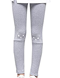 Baby Girls Winter Thick Tights Stretch Leggings Skinny Trouser Pants