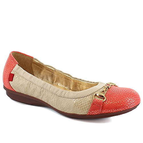 Marc Joseph New York Womens Central Park Porcelain Salmon Flat 8.5 by Marc Joseph New York